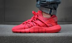 """All Red Everything! The Nike Huarache NM """"Red"""""""