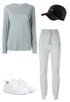 """""""Untitled #157"""" by yasminabuwi on Polyvore featuring Alexander Wang, Vetements and NIKE"""