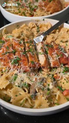 I Love Food, Good Food, Yummy Food, Tasty, Pasta Dishes, Food Dishes, Comida Diy, Cuisines Diy, Cooking Recipes
