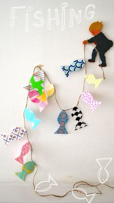 paper fish (how to on my blog)