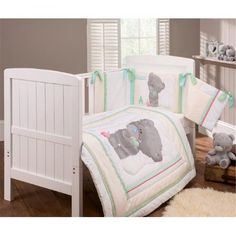 Obedient Ups Free Kids Baby Bedding Sets Baby Girl Bedding Crib Bumper Sets Comforter Cot Cuna Quilt Sheet Bumper Included Attractive Appearance Mother & Kids