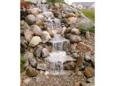 Just-A-Falls Pondless Waterfall Kits use our new waterfall spillways instead of Aquafalls Filters for easier, lower cost installation. Create the Sights and Sounds of a Waterfall Without the Liability or Maintenance of a Pond. | eBay!