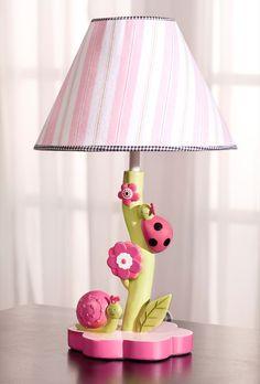 Ladybug lamp nursery pinterest ladybugs products and lamps kids line dotty 6 pc crib set ladybug mozeypictures Gallery
