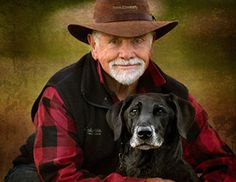 Family photography portrays man and his best friend.