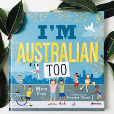 READ: I'm Australian Too by Mem Fox illustrated by Ronojoy Ghosh.  Mem Fox celebrates Australia's incredible multicultural heritage in this beautiful book. Here are 4 pages.... 'My country was Afghanistan -  we fled when we were small.  Our boat capsized but we were saved -  now we're Australians all.  How about you?  Syria was where I lived  but then we had to flee.  Our family's now in Brisbane and we're as safe as safe can be.  How about you?  Sadly I'm a refugee -  I'm not Australian…