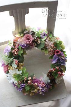 Beautiful summer wreath