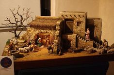 1 million+ Stunning Free Images to Use Anywhere Nativity House, Christmas Nativity Scene, Nativity Crafts, Christmas Villages, Christmas Crib Ideas, Christmas Crafts, Christmas Decorations, Doll House Plans, Diy Crib