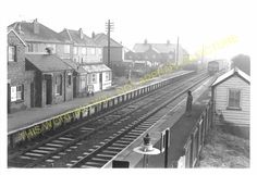 Narborough Railway Station Photo. Blaby - Croft. Leicester to Nuneaton Line (5)