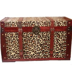 Phat Tommy Leopard Print Trunk