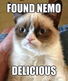 Found+Nemo.+Delicious. Picture Quotes.