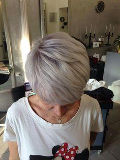 Cool Blonde  Instagram.com/joelhaircolorsalon #hair #haircolor #gray #grayhair #goldwell #iamgoldwell #elumen #silver