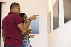 NIGERIA | Art exhibition in Lagos