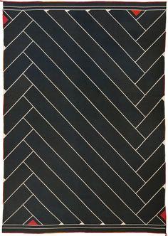 Vintage Danish Carpet By Vibeke Klint, Lynild Scandinavian Modern, Natural…