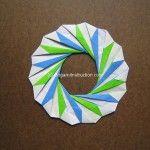 Origami Instruction Modular Whirlpool