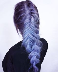 Ice princess ❄️ Colour by @hairbycampeotto braids done by me  #FUCKBADHAIR #behindthechair #modernsalon #hotonbeauty #fbf #nobasicshit #braidsvancouver #vancouverhair #hairstyles