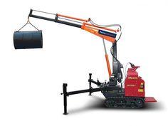 MOBILE CRANE construction truck semi tractor ariel cranes boom
