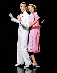 """Fred Astaire and Eleanor Powell in """"Broadway Melody Of 1940"""""""