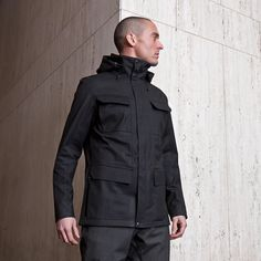 The Eiger  Waterproof Field Jacket    The Eiger is our take on the classic military field jacket updated with all the modern advantages of technical outerwear, and the first apparel release in the Advanced Projects Series.