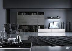 Farbideen Fürs Wohnzimmer U2013 Wände Grau Streichen