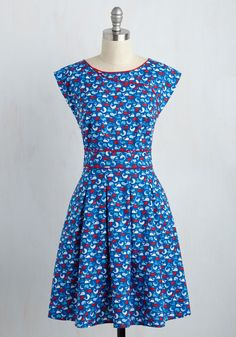 Topiary Tour Dress in Whales