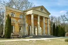 Ruins of a Habsburg Castle in Alcsutdoboz Hungary, Pergola, Beautiful Places, Castle, Outdoor Structures, London, Mansions, Architecture, House Styles