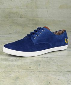 Foxx Suede Shoe - Fred Perry