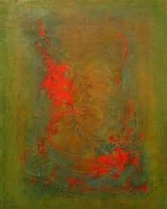"""Immersion""""-- oil and cold wax by Cynthia J. Lee (www.cynthiajlee.com ..."""