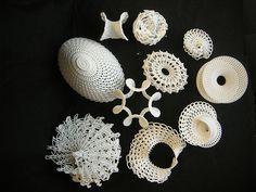 Crochet, architecture, design - Gisela Bauermann - Cornell University