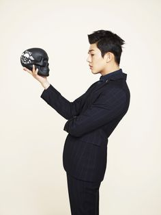 checkered #suit :: Yoo Ah In