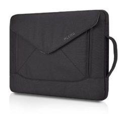 PLEMO Envelope Nylon Fabric 15-15.6 Inch Laptop / Notebook Computer / MacBook / MacBook Pro Shoulder Bag Case Pouch Sleeve, Black - http://tulip-ego.com/laptop-and-notebook-computer-accessories/plemo-envelope-nylon-fabric-15-15-6-inch-laptop-notebook-computer-macbook-macbook-pro-shoulder-bag-case-pouch-sleeve-black/
