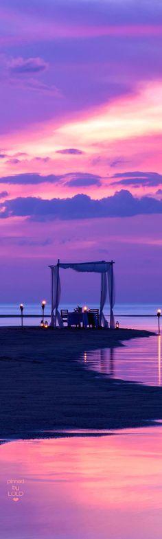 The-Sarojin Beach Private Dining Thailand   LOLO❤︎