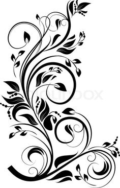 "Stock vector ✓ 15 M images ✓ High quality images for web & print | ""Flower pattern for design as a background. Vector illustration."""