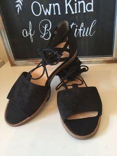 749e6880e4d1  299 Paul Green Morea Lace Up Sandals Black Sport Nubuck Women Sz UK 4 1 2  US 7  fashion  clothing  shoes  accessories  womensshoes  sandals (ebay  link)