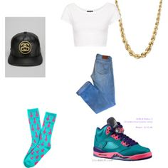 """""""bored ."""" by jairaam on Polyvore cheap air jordan 5 only $60, save up to 59% off for all #Nikes #Shoes"""