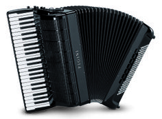 Pigini Bayan 58/P This is the finest convertor bass piano accordion on the market today. As used by many of the top players in the world this accordion gives you everything you need. The best hand made reeds to give you that quality of sound, complete with the finest control and touch you could demand.  The keyboard, a full 45 notes, has the best touch around, renowned throughout the world. The balance between the hands is superb with a wide selection of registers on each hand.