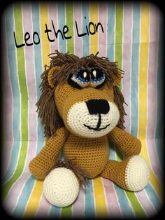 Leo the Lion snuggle buddy find it @ www.etsy/shop/memawscountrycrafts.com