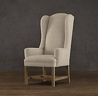 Belfort Wingback Upholstered Dining Chair x 6