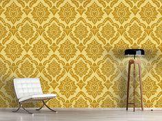 Design #Tapete Pop Barock Gold