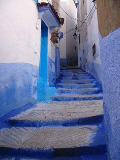シャウエンの街並み3 ‐モロッコの絶景・名所‐