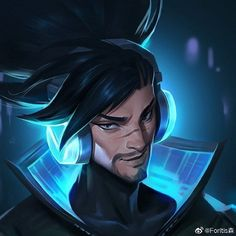 ~Art by Foritis~ . League Of Legends Yasuo, League Of Legends Game, Legend Images, Lord Of Shadows, Overwatch Wallpapers, Fanart, Art Reference Poses, Pretty Men, Manga Games