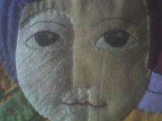 Inner child  (detalle) Art Quilt