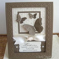 Embedded Embossing and Tulip Frame Tutorial