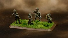 I've not particularly enjoyed these figures. It's a long tedious process. God knows how I would go with a second platoon, or a Russian swarm. As a result my progress on these has been p…