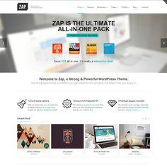 ZAP Responsive MultiPurpose WordPress Theme | WordPress Theme Download