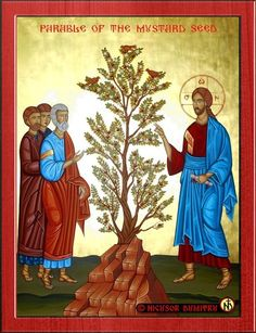 One of the most striking features of the teaching of Jesus is his use of parables. What are the parables? Some points about interpreting parables can be m Catholic Art, Religious Art, Gospel Bible, Parables Of Jesus, Byzantine Icons, Byzantine Art, The Good Shepherd, Favorite Bible Verses, Orthodox Icons