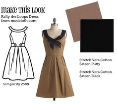 Make This Look is a daily inspiration for those who sew (or want to learn how to sew).