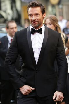 Hugh Jackman in Dolce - dapper