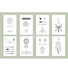 Decorative design elements on VectorStock