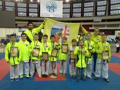 """Karate WKF+WKU Olympic Games of martial arts """"East-West"""" St. Petersburg, Russia"""