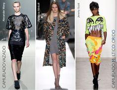 Tendência para o Inverno 2014: Camuflado colorido   Trend for Fall/Winter 2013.14: Multicolor camouflage